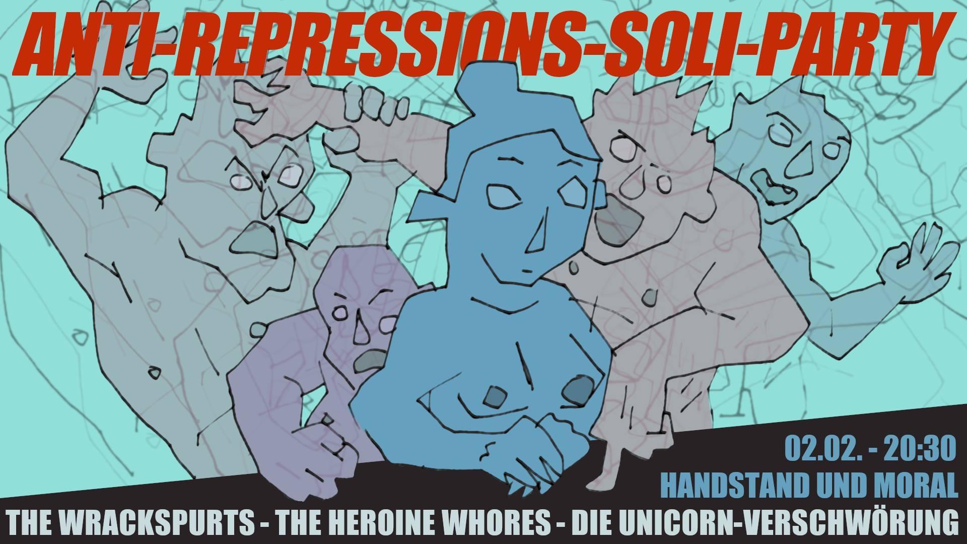 handstand und moral 2.2. unicorn verschwörung, heroine whores, wrackspurts