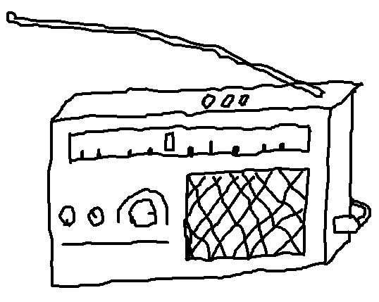 radio ohne hintergrund